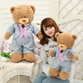 Cute plush toy teddy bear wearing a suit Teddy Bears Stuffed Animals Soft Plush Toys Hold Bears