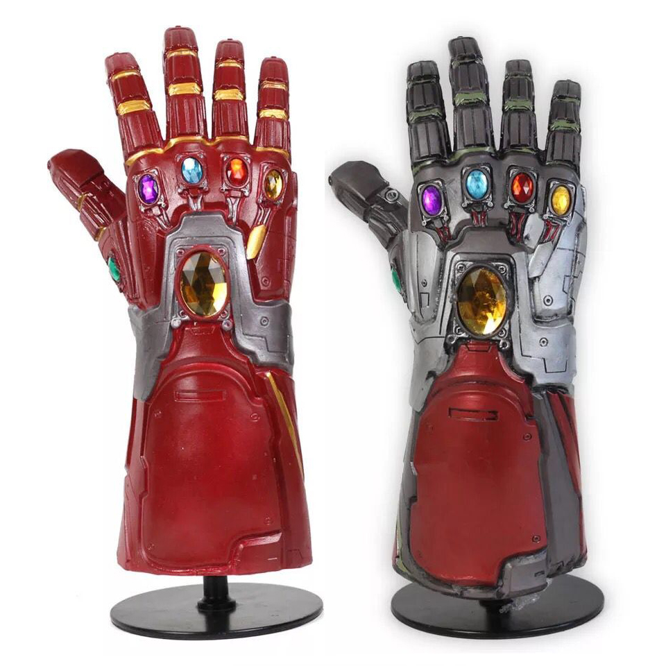 Iron Man Nano LED Gloves Avengers Endgame Infinity Gauntlet Cosplay Costume NEW