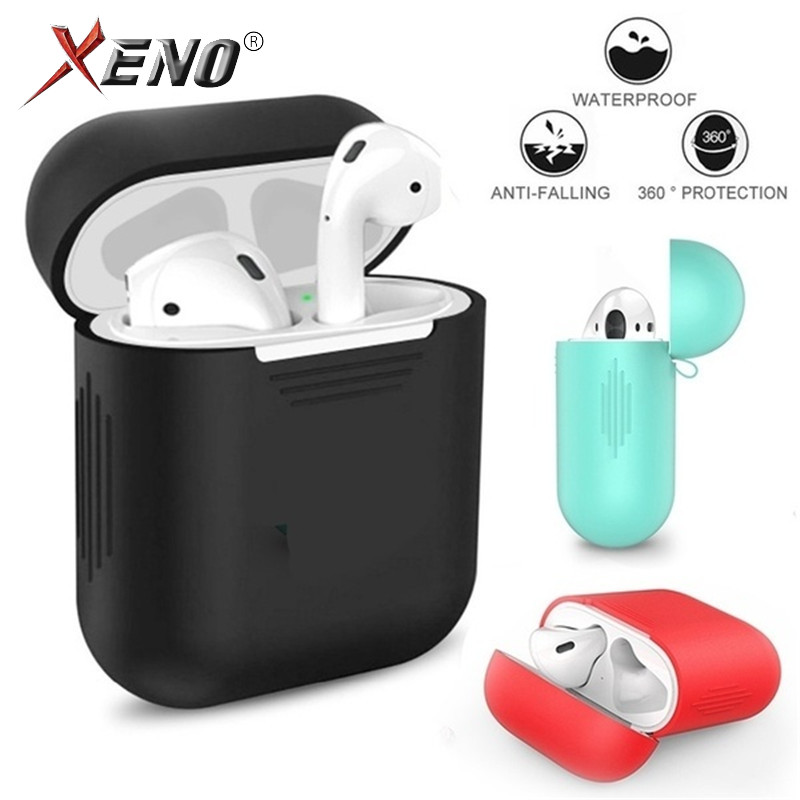 Headphone Cover For Airpods Apple/headphone Case/Protection Airpods Stickers/Silicone Cover Airpods 2/Hard Case Clear Airpods2-in Earphone Accessories from Consumer Electronics