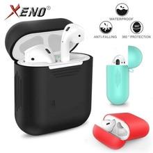 Pokrowiec na słuchawki do Airpods Apple/etui na słuchawki/ochrona Airpods naklejki/pokrywa silikonowa Airpods 2/twarda obudowa wyczyść Airpods2