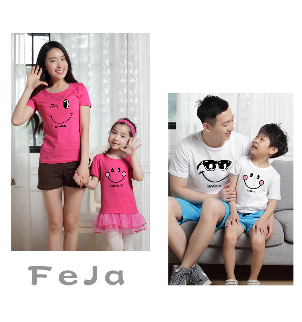 HTB1tTVjRXXXXXagXFXXq6xXFXXX3 - family matching clothes Mother daughter dresses outfits cotton casual T-shirts family Look cotton mother father son clothing