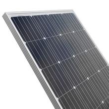 Solar Panel 100w 200w  18V 12V 24V Light weight  Glass Temper Solar Panel Mono crystalline cells solar battery charger