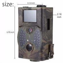 Wildlife Hunting Camera HC300A 12MP HD 1080P 940NM 2.0 LCD Trail Camera Wireless Infrared Scouting Camera 12mp wildlife camera trail camera 2 6c 940nm black led invisible animal trap 1080p hunting camera