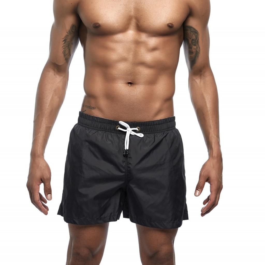CHAMSGEND   Shorts   Men's Polyester   Board     Shorts   Summer Beach Pants Quick Drying Swimwear Male Swim   Shorts   Swimming Trunks 14JAN25