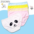 4pcs/lot Baby Girls Briefs Cartoon Underwears Kids Short Briefs Children Underpants 2-10Y Kids Panties Girl Clothes YL491