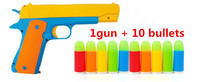 1pcs Classic M1911 Toys Pistol Children S Toy Guns Soft Bullet Gun Plastic Revolver Kids Fun
