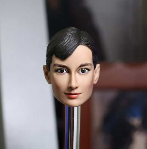ФОТО 1/6 Scale Audrey Hepburn Head Sculpt Model Film Star Headplay For 12 inches Female Phicen HT Figure Collectible Model Toys