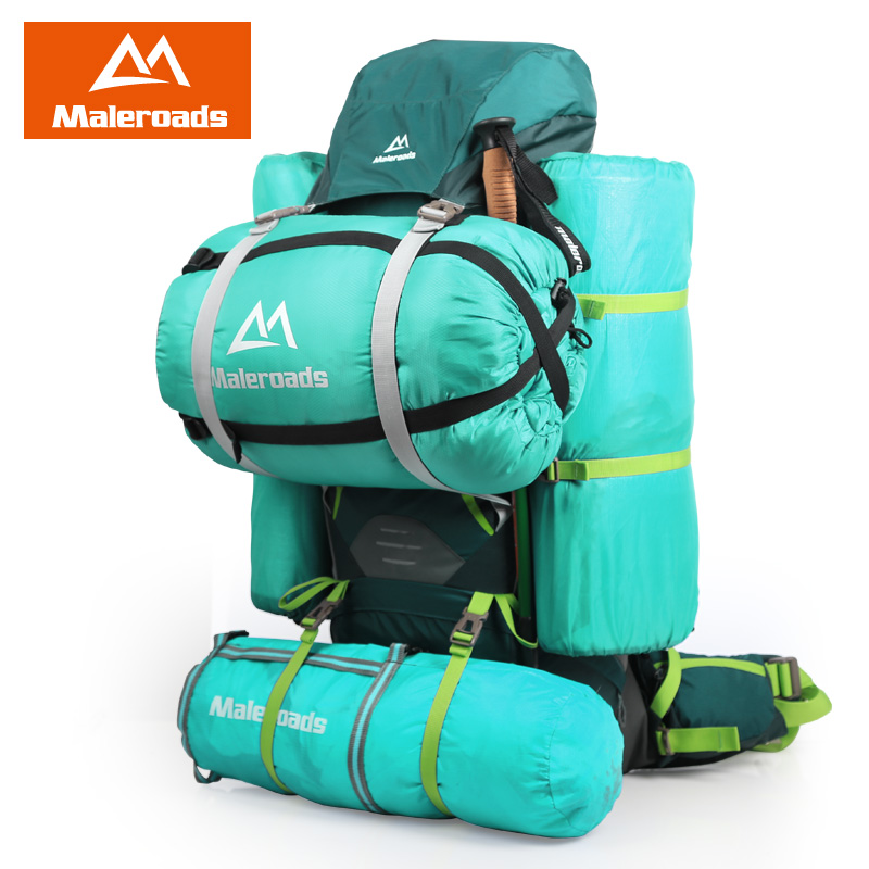Mejor! Maleroads grande 70L CR Profesional Sistema de Subida mochila de Viaje Equipo del Engranaje Caminata Campamento Senderismo Mochila para Hombres y Mujeres - 3
