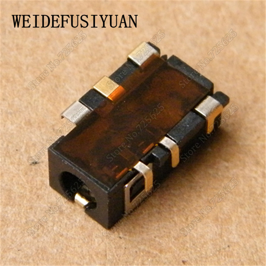 New 3.5mm Laptop Audio Port Socket Connector for Asus K550DP X450 A550 X550DP X450VC X456UJ X56UJ X556LD Headphone Jack