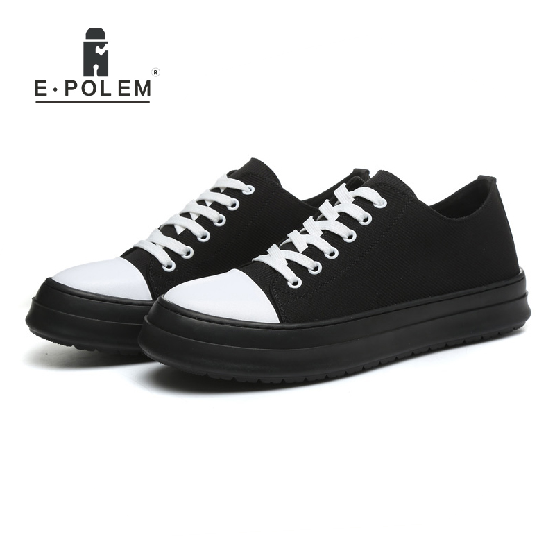 Fashion Man Casual Shoes Canvas Shoes Height Increasing Breathable Flat Shoes Lace up 2017 Spring Autumn Mens Shoe chilenxas autumn winter large size 35 45 leather men casual shoes lace up breathable lovers height increasing fashion waterproof