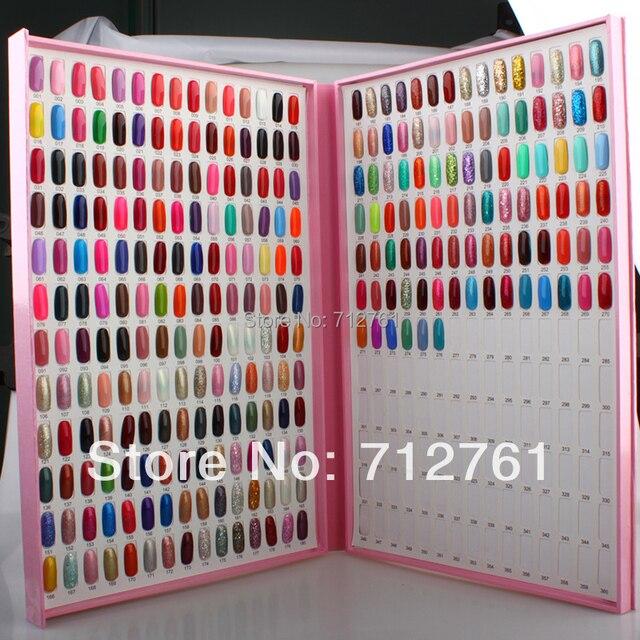 Nail salon equipment Elegant Nail Lacquers Color Chart Display Borad