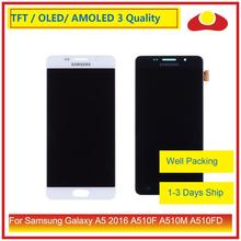10 pz/lotto Per Samsung Galaxy A5 2016 A510 A510F A510M A510FD A510Y Display Lcd Con Touch Screen Digitizer Assemblea Completa