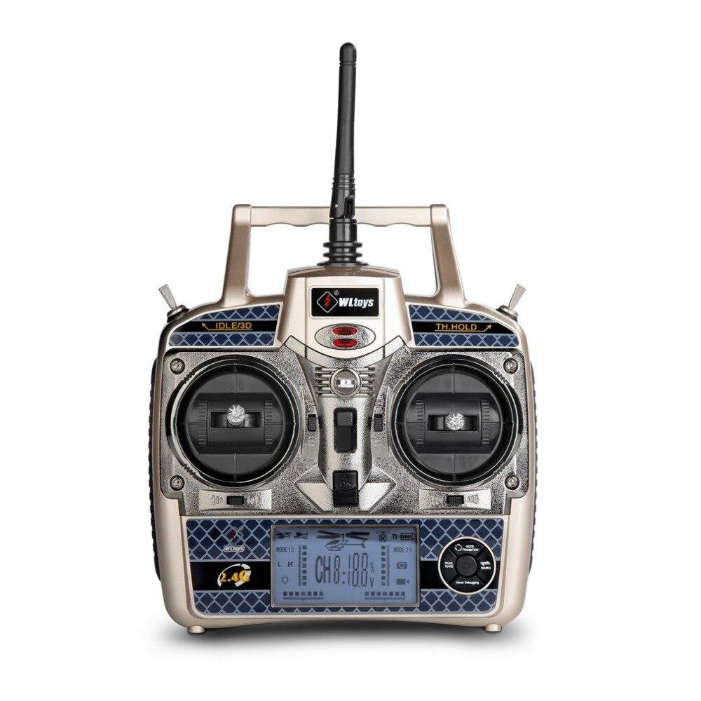 Для WLtoys V950 горячая Распродажа 2,4G 6CH 3D/6G система свободно переключается бесщеточный двигатель RTF пульт дистанционного управления Вертолет сильный ветер RC игрушки - 6