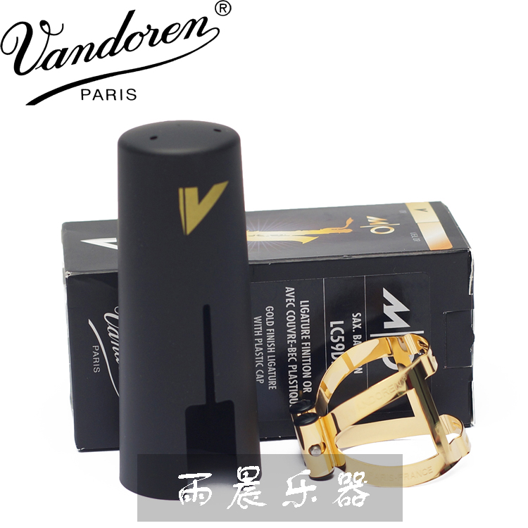 France  Vandoren   MO  series baryton   bakelite Hard rubber mouthpiece Baritone ligature gold plated Baritone LC59DP