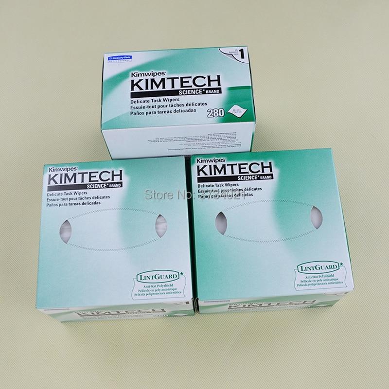 Free Shipping 280pcs/box,10 Boxes, 2800pcs Optical Fiber Clean Wipe Paper Optic Fiber Wiping Paper Cleaning Fiber Cleaner Tools