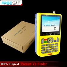 100% Original V8 Freesat HD DVB-S2 Buscador Buscador de Satélite de Alta Definición MPEG-2 MPEG-4 Buscador de satélite Freesat V8
