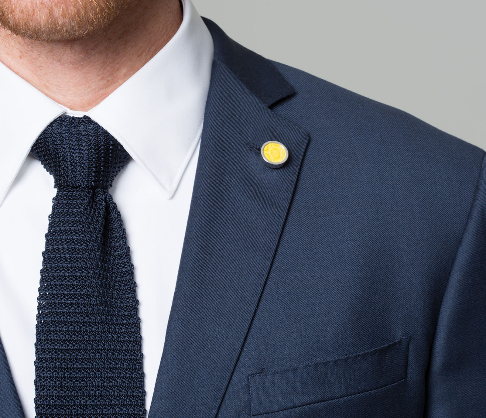 wear collar pin cotton sky men a blue and brooch shirt from crisp comprised s the for slim cool suit pure belfort