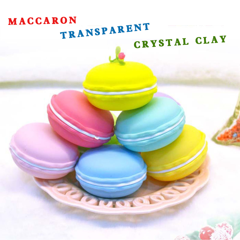 3 pcs Kids Baby Crystal Mud Modeling Clay Plasticine Air Dry Creative Handwork Playdough Slime Rubber
