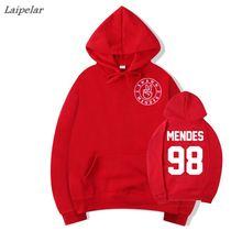 Laipelar Shawn Mendes Sweatshirt WomenS Harajuku Cameron Dallas 98 Hoodies Unisex Streetwear Capless Moletom Female Fans