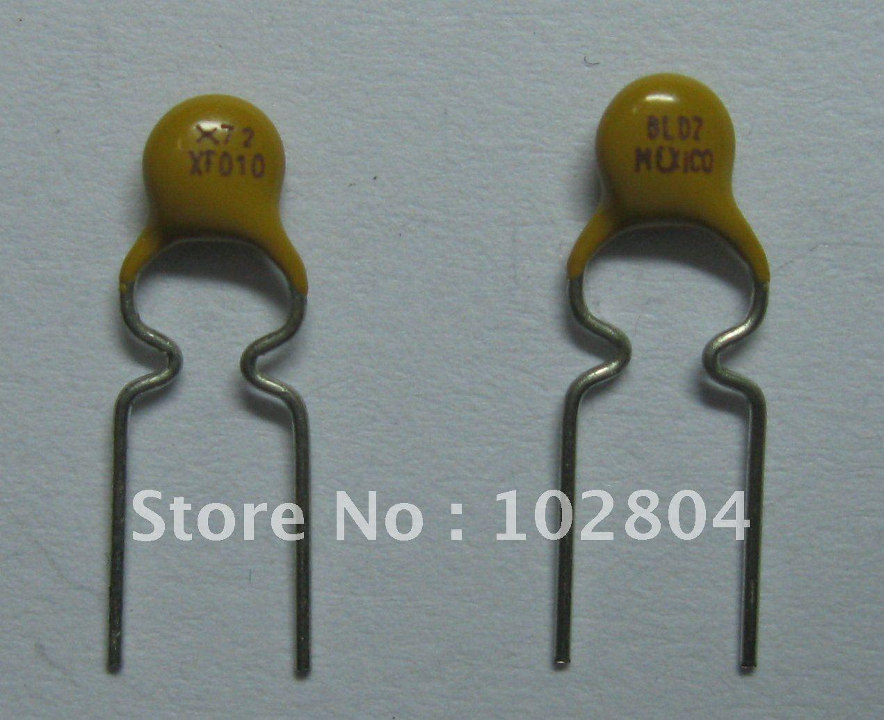 120 шт. 60 в 0.1A PolySwitch радиальный этилированный восстанавливаемый предохранитель PPTC