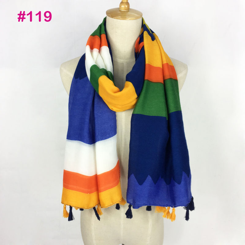 Women scarf viscose pashmina irregular shape print wholesale have stock