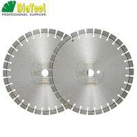 DIATOOL 2шт Профессиональный лазерный сварной алмазной пилы, режущий диск, жесткий материал, алмазный диск, алмазный диск 12 14 16