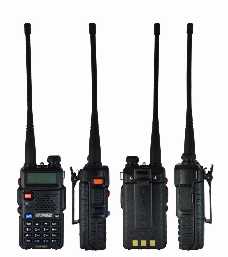 Image 2 - Baofeng UV 5R Walkie Talkie two way communicator Transceiver FM UV5r VHF UHF Portable pofung UV 5R Hunting CB Ham Radio Station-in Walkie Talkie from Cellphones & Telecommunications