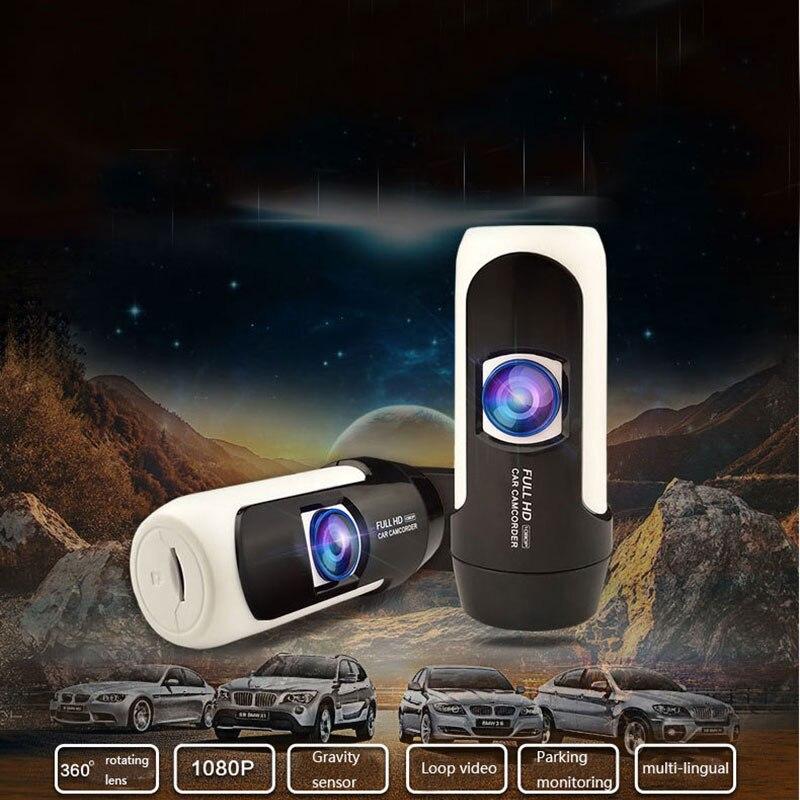 ENKLOV Mini enregistreur de conduite sortie vente chaude 360 rotatif caché haute vitesse lecteur de voiture enregistrement gravité détection 140 grand Angle