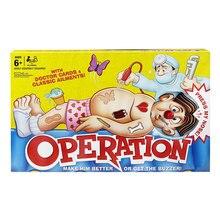 Моделирование операции доктор игрушки набор настольная забавная игра ребенок раннего обучения интерактивные ролевые игры Детская Подарочная версия