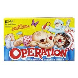 Simulação operação doutor brinquedos conjunto desktop divertido jogo bebê aprendizagem precoce interativo fingir jogar jogo de presente das crianças versão