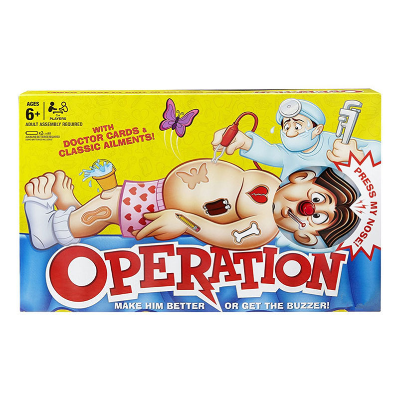 Simulation Operation Doctor Toys Set Desktop Fun Game Baby Early Learning Interactive Pretend Play Game Children's Gift Version
