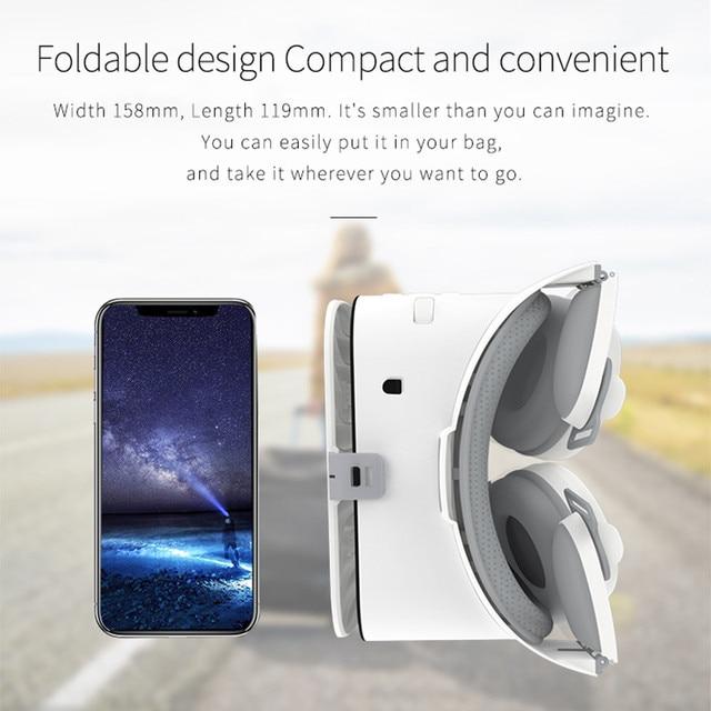 BOBOVR Z6 Upgrade 3D Glasses VR Headset Google Cardboard Bluetooth Virtual Reality Glasses Wireless VR Helmet For Smartphones 3