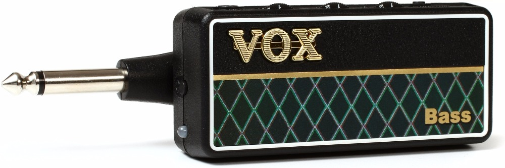 VOX AP2BS amPlug 2 Bass G2 Guitar Headphone Bass Guitar Amplifier with 3 Gain Modes, Speaker Cabinet Emulation, and Aux in Jack vox mini3 g2 ivory