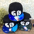 Bigbang G-Dragon hip hop cap GD fashion Rivets Acrylic casual studded snapback gorra hombre print bones  Of Men Women Couples