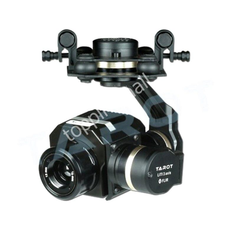 Caméra à cardan à imagerie thermique FLIR efficace en métal Tarot 3 axes CNC pour Flir VUE PRO 320 640PRO TL03FLIR