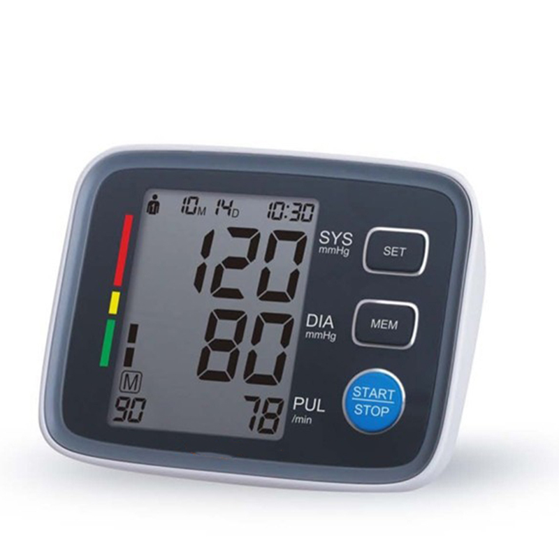 Arm cuff Digital Blood Pressure Monitor tonometer hematomanometer sphygmomanometer pulsometros Health Monitor for heart blood