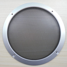 3#8 speaker grille quality car speaker grille box painted silver ring,Free Shipping