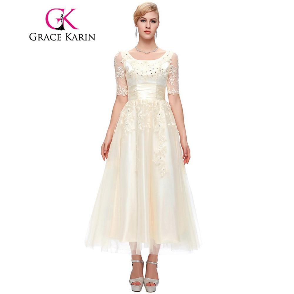 Grace karin mutter der braut kleider mit ärmeln spitze tüll ...