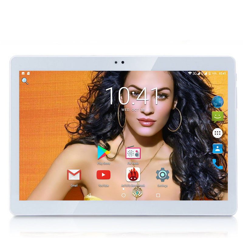 2019 New 10 inch Tablet PC Android 8 0 OS 3G Octa Core 4GB RAM 64GB
