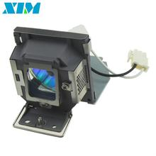 Compatible lampe de projecteur 5J. J0A05.001 pour Benq MP515 MX501 MP515ST MP526 MP575 MP576 avec logement