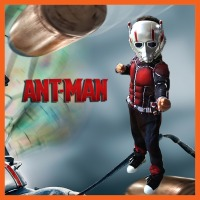 FACTORY DIRECT SELLING CHILD DELUXE ANT MAN MUSCLE COSTUME BOYS MARVEL NEW SUPERHERO COSPLAY HALLOWEEN FANCY