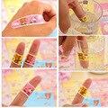 50 pçs/lote Hemostase Band Aid Etiqueta Adesiva Médica de Primeiros Socorros Curativo Dos Desenhos Animados Família Gesso Estéril Band-aid C653