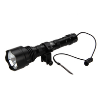 2500Lm XML T6 LED Tactical Flashlight Torch Light+Pressure Switch+ Mount