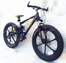 Excelli Bike 2016 New 21/24/27 Speeds 26×4.0″ Bicicletas Cycing Snow Bike Soft-tail Frame Fat Bicycle Bicicleta Mountain Bike 26