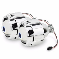 1pair 2 5 Inches WST Bi Xenon Projector Lens Led Projector Light Using H1 Xenon Lamp