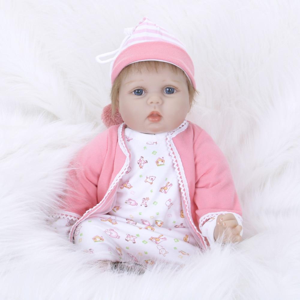 Здесь продается  22Inch Reborn Baby Doll Lifelike Alive Girl Doll Realistic Supernatural Doll With Beautiful Dress  Игрушки и Хобби