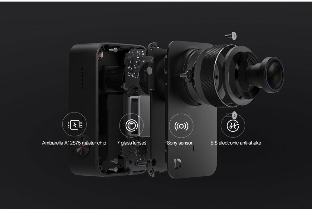 Original Xiaomi Mijia Mini Action Camera Digital Camera 4K 30fps Video Recording 145 Wide Angle 2.4 Inch Touch Screen Sport Smart App Control ok (10)