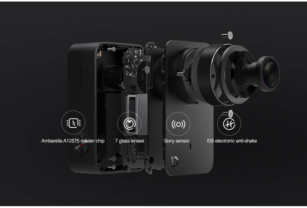 Original Xiaomi Mijia Mini Action Camera Digital Camera 4K 30fps Video Recording 145 Wide Angle 2.4 Inch Touch Screen Sport Smart App Control ok (10)