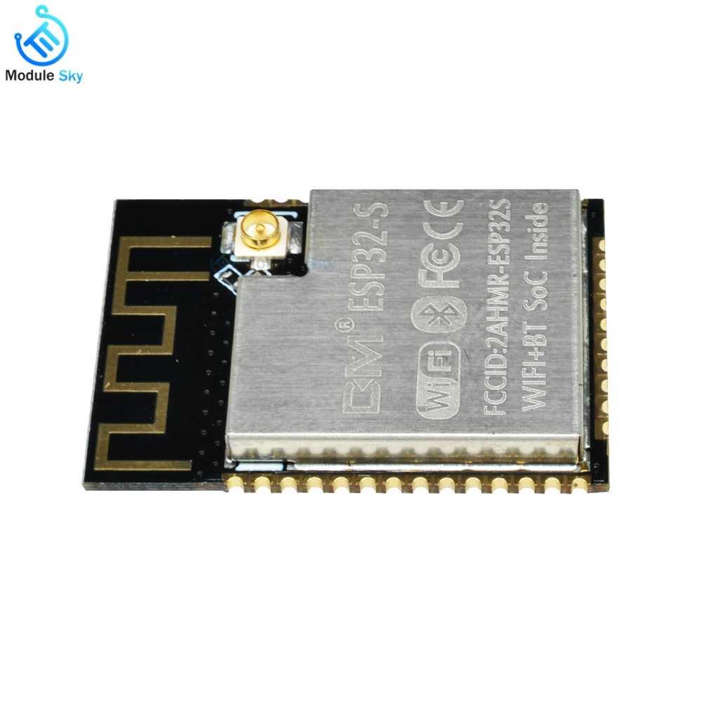 اللاسلكية وحدة ESP32-S WIFI وحدة بلوتوث مجلس التنمية المتكلم استقبال مع IPX واجهة بورتا إيثرنت transmisor