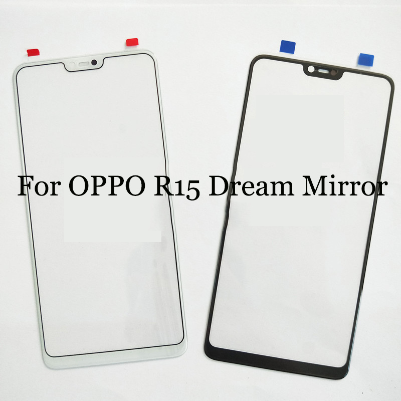 For oppo R 15 R15 dream mirror TouchScreen Digitizer For oppo R15 dream mirror Touch Screen Glass panel Without Flex Cable